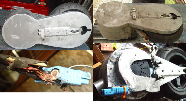 E-Wheel repair and inspection