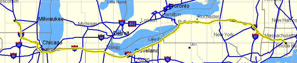Starting to plan the trip to Madison