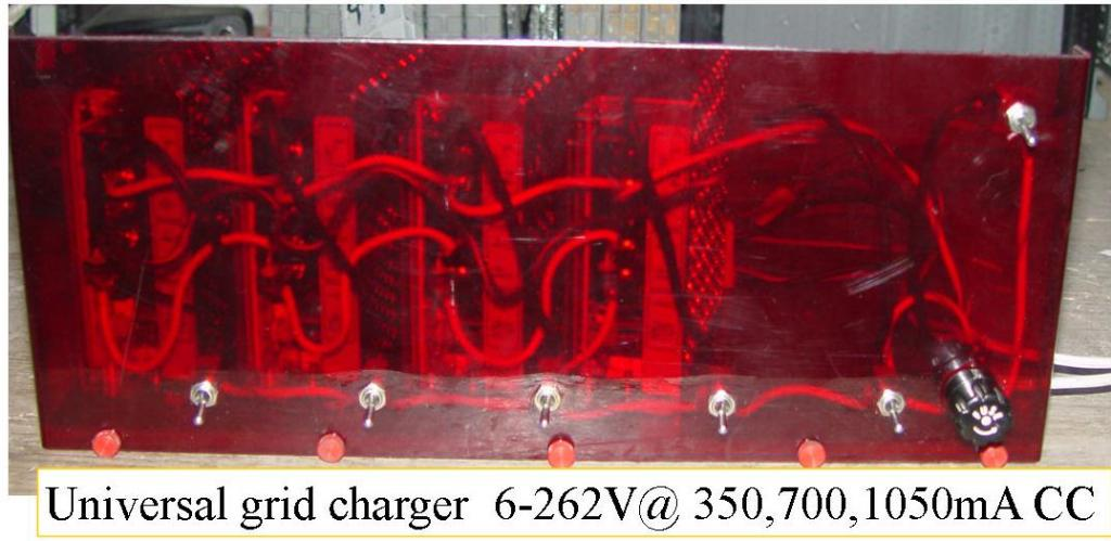 universal dual stage grid charger