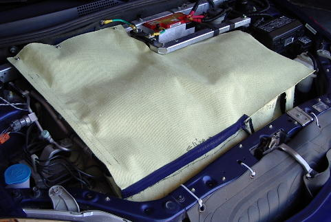Engine Blanket Installed 6/04/07