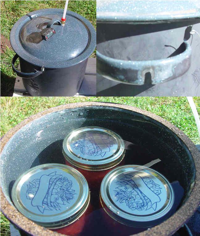 Canning pot