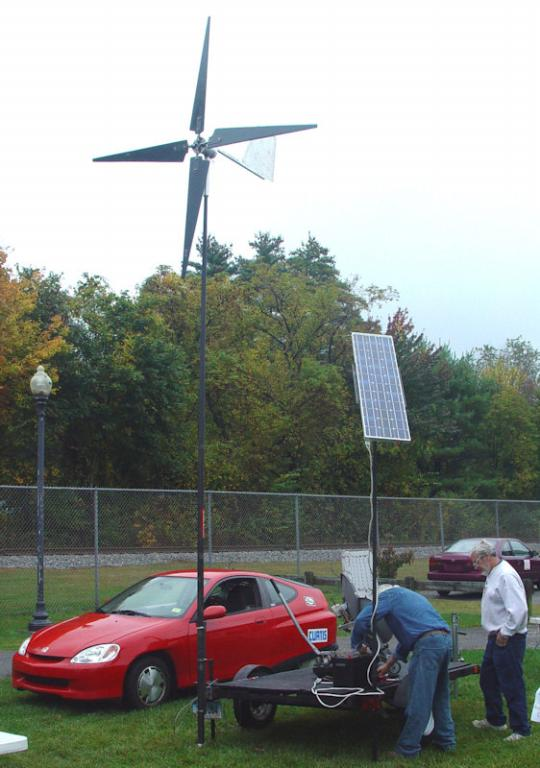 First wind generator