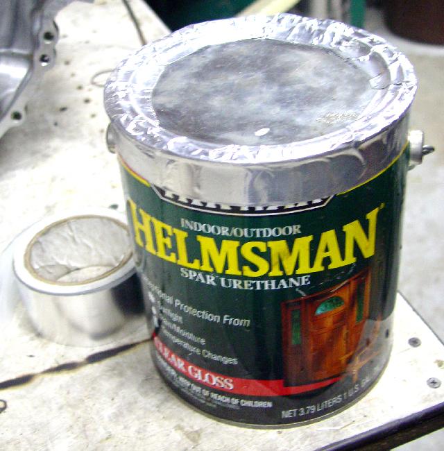 aluminum tape again