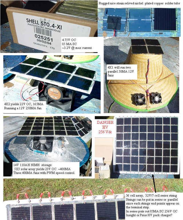 Making some custom solar panels