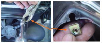 Battery fan removal