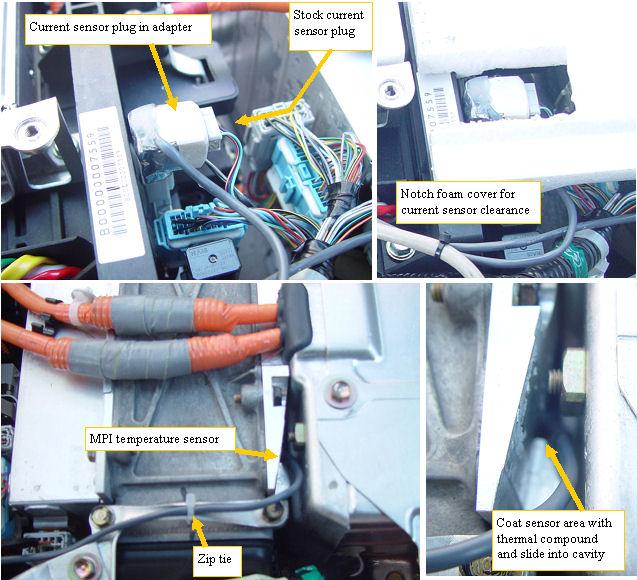 MPI thermal probe