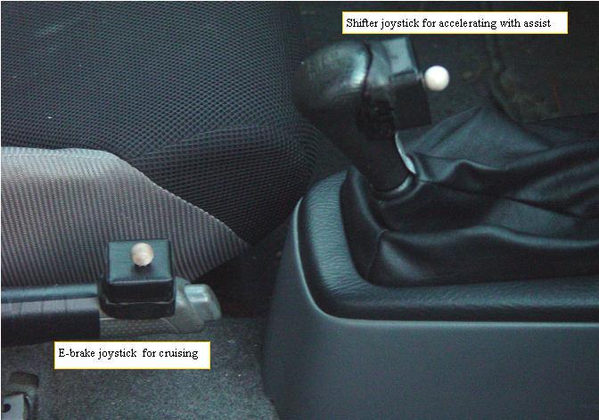 7. Installing the MIMA joysticks