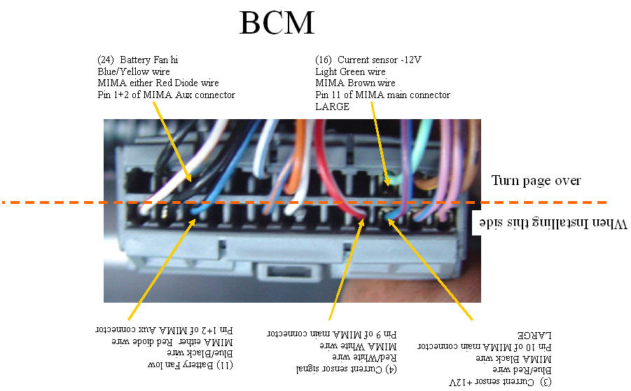 BCM connections