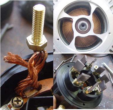 The Etek motor